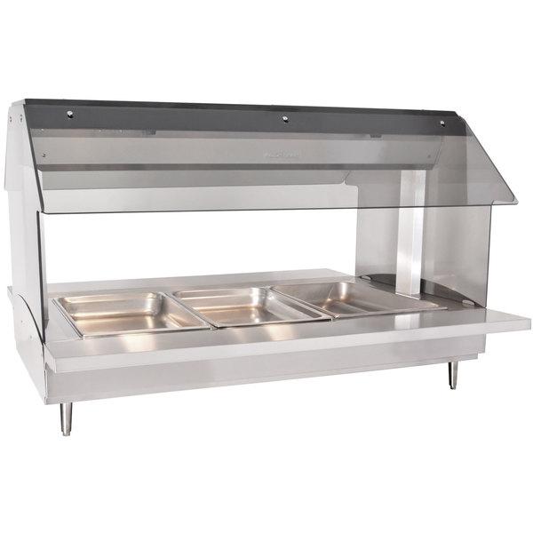 Alto-Shaam HFT2-300 Three Pan Electric Tabletop Hot Food Buffet Table - 230V Main Image 1