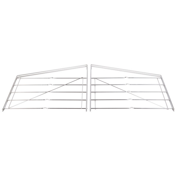 "Metro 12WB5C Wall Mount for Five 12"" Wide Erecta Shelves - 2/Set"