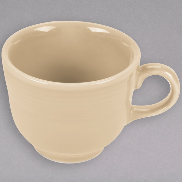 ffe4aafb5a6 Homer Laughlin 452330 Fiesta Ivory 7.75 oz. China Cup - 12/Case