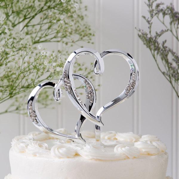 Wilton 1006-985 Double Heart Cake Topper