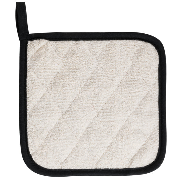 Minimize The Risk Of Burns In Your Kitchen By Using This Choice Terry Cloth Pot  Holder! Featuring A Comfortable, Secure Grip And Allowing For Versatile Use  ...