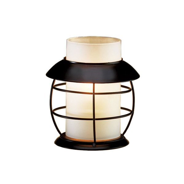 Sterno Products 85304 Table Lamp Frost Cylinder Globe