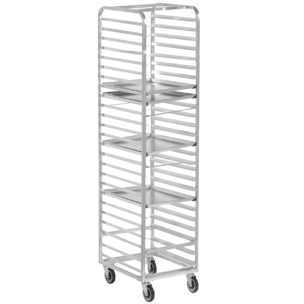 Channel 405A 27 Pan End Load Aluminum Bun / Sheet Pan Rack - Assembled Main Image 1