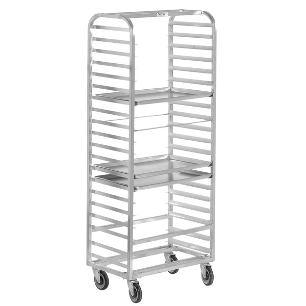 Channel 411S 20 Pan Side Load Stainless Steel Bun / Sheet Pan Rack - Assembled Main Image 1