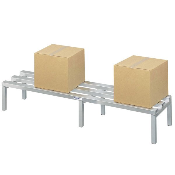 "Channel CA2472 24"" x 72"" Aluminum Dunnage Rack - 2500 lb."