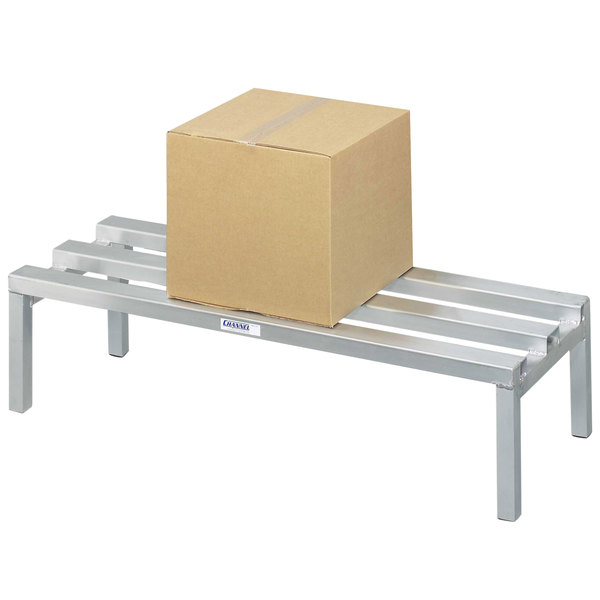 "Channel CA2048 20"" x 48"" Aluminum Dunnage Rack - 2500 lb."