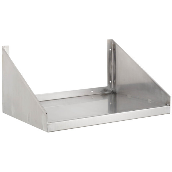 "Channel MWS2424 24"" x 24"" Stainless Steel Microwave Shelf Main Image 1"
