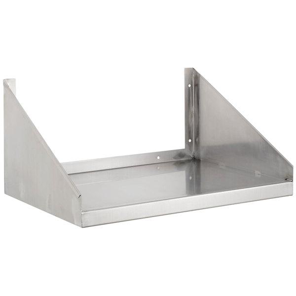"Channel MWS2424 24"" x 24"" Stainless Steel Microwave Shelf"