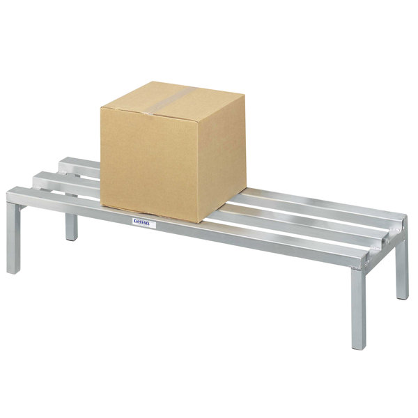 """Channel CA2054 20"""" x 54"""" Aluminum Dunnage Rack - 2500 lb. Main Image 1"""