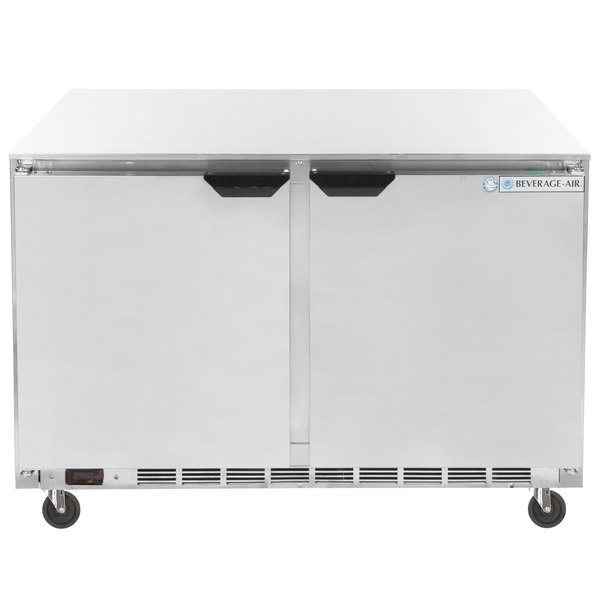 """Beverage-Air UCR48AHC-23 48"""" Low Profile Undercounter Refrigerator"""