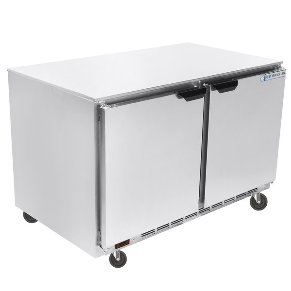 """Beverage-Air UCR48AHC-23 48"""" Low Profile Undercounter Refrigerator Main Image 1"""