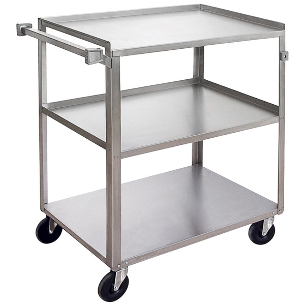 "Channel US1835-3 Three Shelf Utility Cart - 39"" x 21"" x 37"""