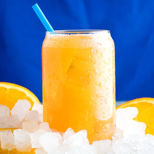 Narvon 5 Gallon Bag in Box Orange Beverage / Soda Syrup