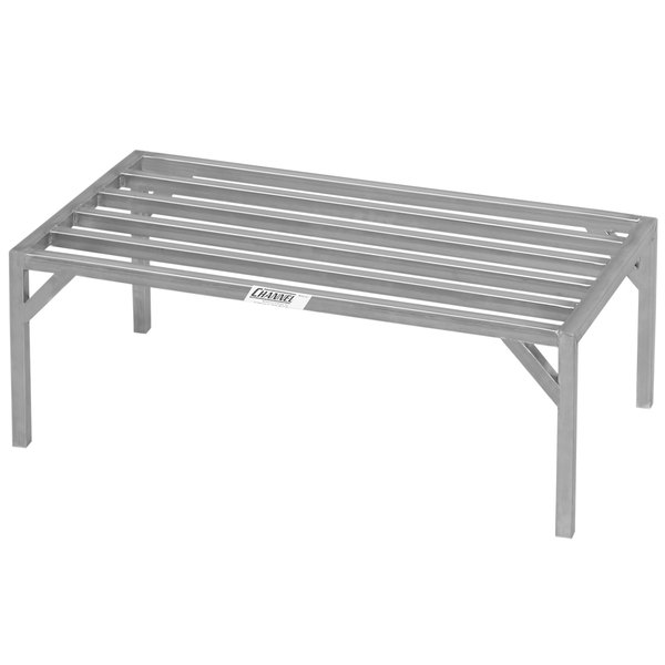 """Channel ES2042 20"""" x 42"""" Heavy-Duty Stainless Steel Dunnage Rack - 4000 lb. Main Image 1"""