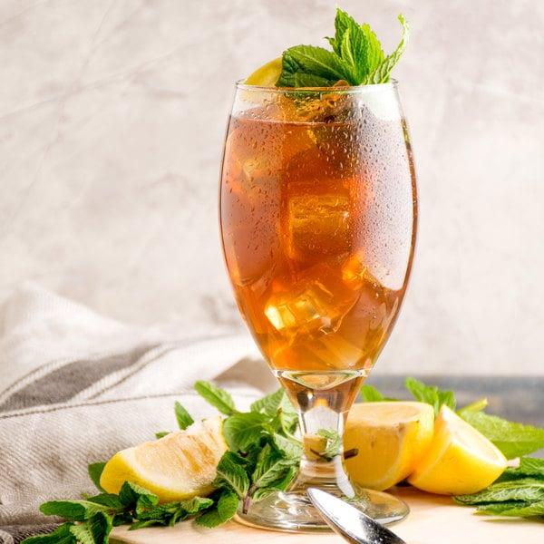 Narvon 5 Gallon Bag in Box Lemon Sweet Iced Tea Syrup Main Image 4