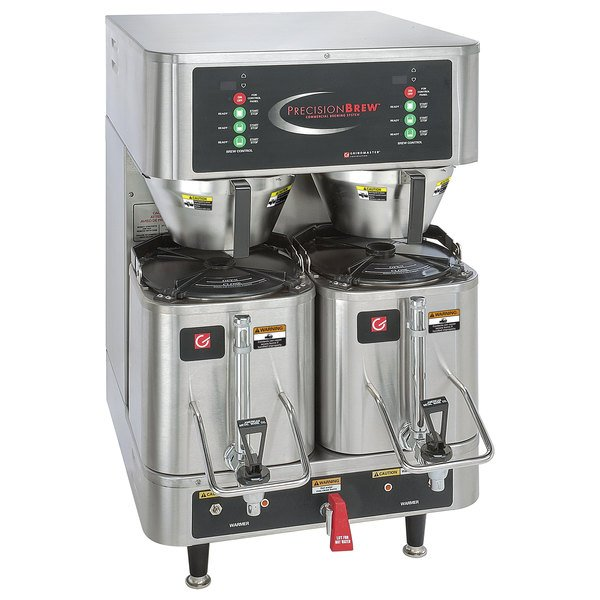 Grindmaster PB-430 1.5 Gallon Twin Shuttle Coffee Brewer - 120/208/240V Main Image 1