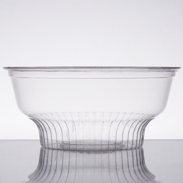 Choice 5 oz. Clear Plastic Dessert Cup - 50/Pack