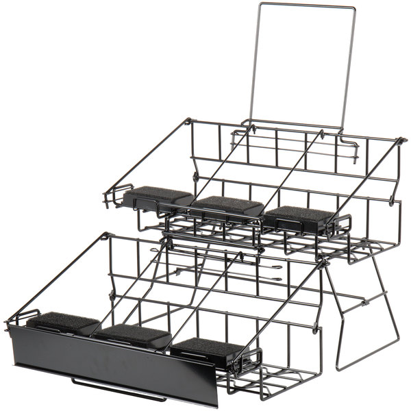 Choice 20 14 X 23 516 X 17 38 Black Wire 6 Compartment Airpot