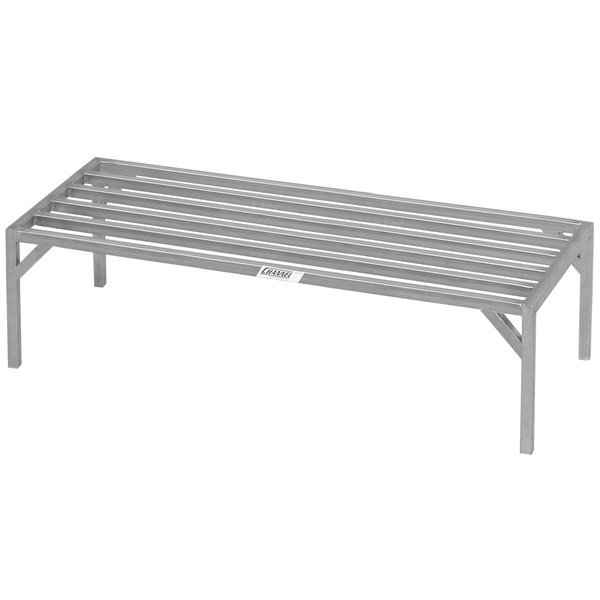 """Channel ES2072 20"""" x 72"""" Heavy-Duty Stainless Steel Dunnage Rack - 4000 lb. Main Image 1"""