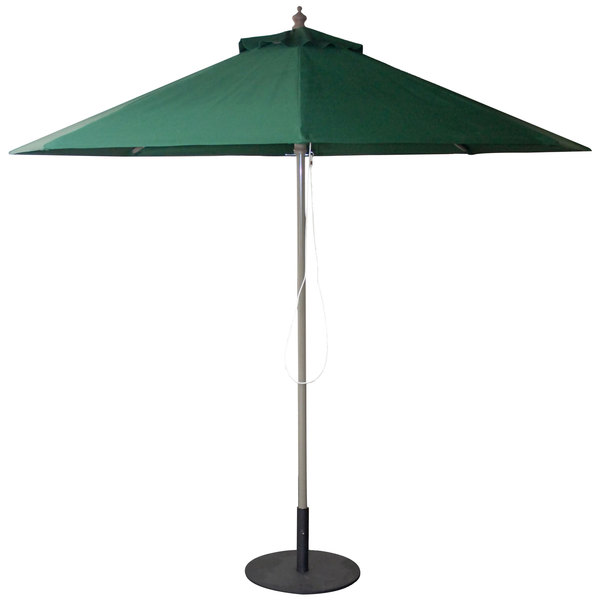 American Tables & Seating UMB-GRN 9' Fabric Umbrella