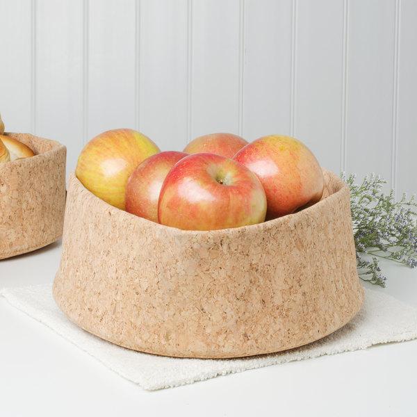 "Bambu® 131400 Adjust-A-Bowl 10"" Cork Fabric Bowl Main Image 4"