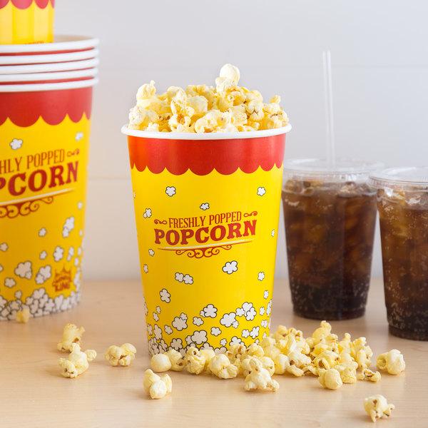 Carnival King 46 oz. Popcorn Cup - 500/Case