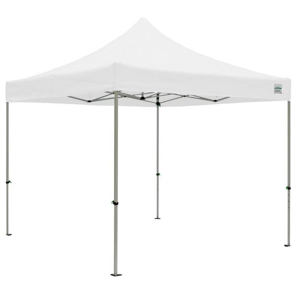Caravan Canopy 21003106011 Aluma 10u0027 x 10u0027 White Commercial Grade Instant Canopy Deluxe Kit  sc 1 st  WebstaurantStore & Canopy 21003106011 Aluma 10u0027 x 10u0027 White Commercial Grade Instant ...