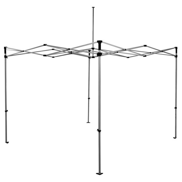 Caravan Canopy 21003106010 Aluma 10' x 10' White Heavy-Duty Commercial  Grade Instant Canopy Deluxe Kit with Side Walls