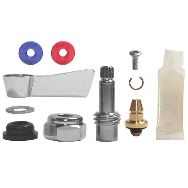 "Fisher 89613 1/2"" Brass Left Hand Wrist Handle Swivel Stem Repair Kit Main Image 1"