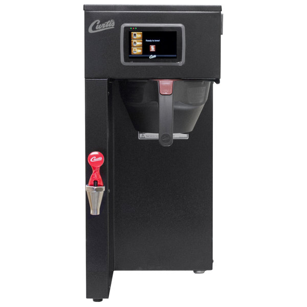 edeab93e6 Curtis G4TP1S63B3100 G4 ThermoPro Black Single 1 Gallon Coffee Brewer -  110/220V. Main Picture · Image Preview