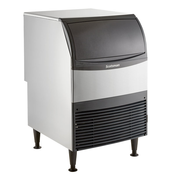 Scotsman UF424A-1 24 inch Air Cooled Undercounter Flake Ice Machine - 440 lb.