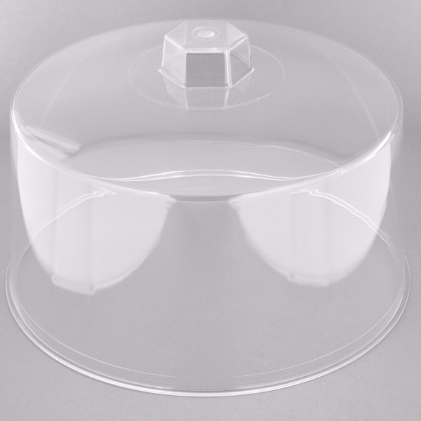 Tablecraft 421 12 Clear Plastic Cake Cover
