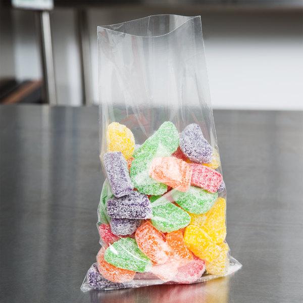 "Plastic Food Bag / Candy Bag 5 3/4"" x 9 3/4"" - 2000/Box"