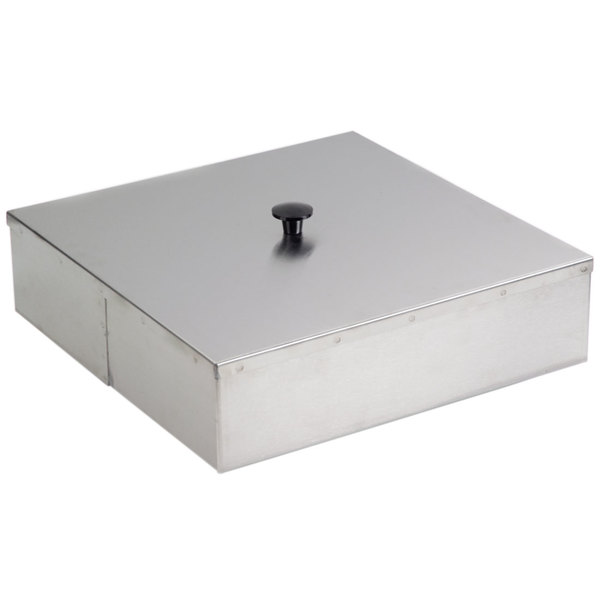 "Lakeside 09343 15 3/4"" Square Dish Dispenser Dome Cover Main Image 1"