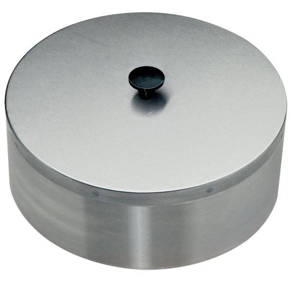 "Lakeside 09562 12 3/4"" Round Dish Dispenser Dome Cover Main Image 1"