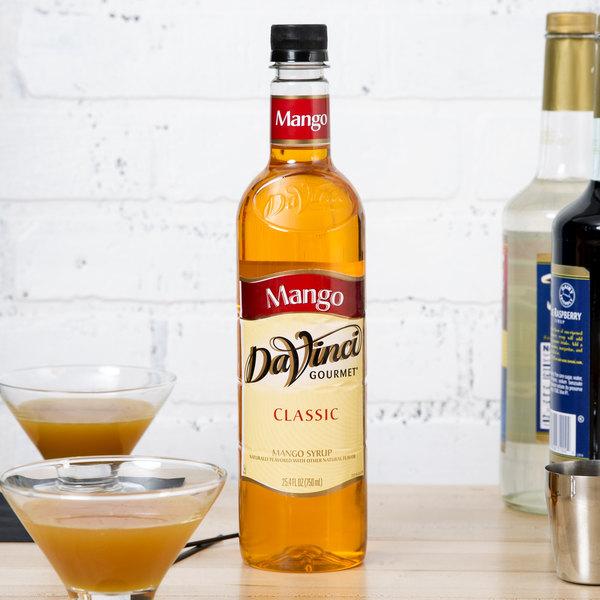 DaVinci Gourmet 750 mL Classic Mango Flavoring / Fruit Syrup