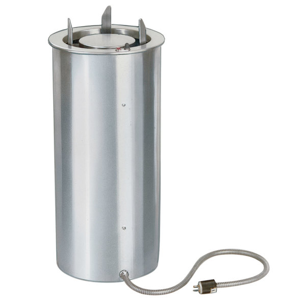 """Lakeside 91425 Heated Drop In Dish Dispenser for 4 1/4"""" to 7 1/2"""" Dishes - 120V Main Image 1"""