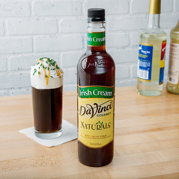 DaVinci Gourmet 750 mL All Natural Irish Cream Flavoring Syrup