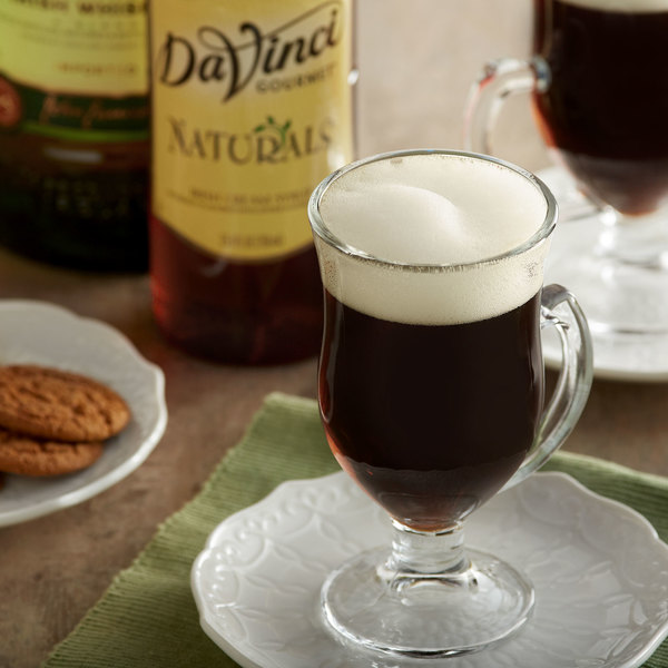 DaVinci Gourmet 750 mL All Natural Irish Cream Flavoring Syrup Main Image 2