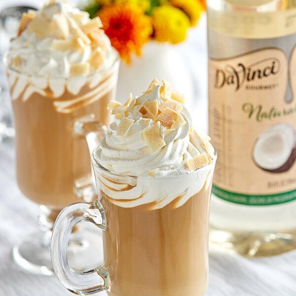 DaVinci Gourmet 750 mL All-Natural Coconut Flavoring Syrup Main Image 2