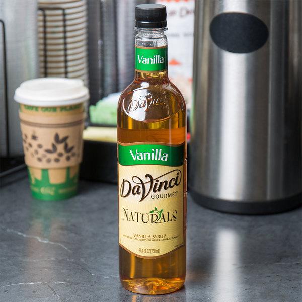 DaVinci Gourmet 700 mL All Natural Vanilla Flavoring Syrup