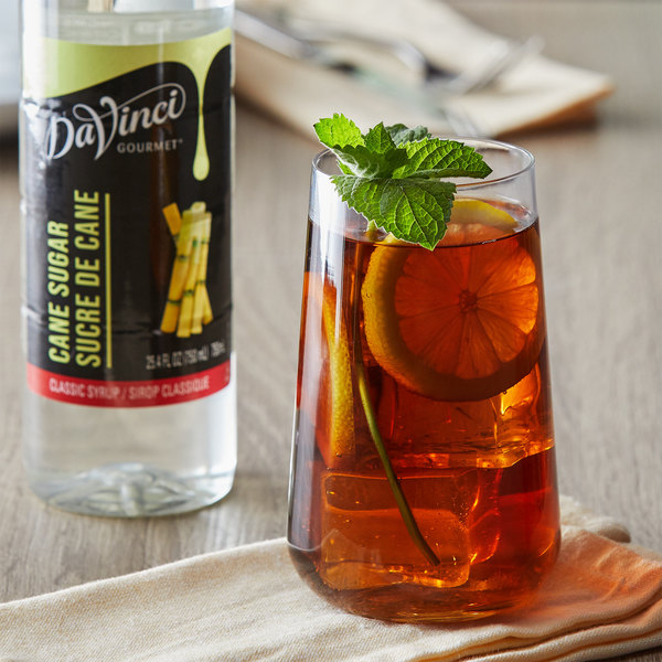 DaVinci Gourmet 750mL Classic Cane Sugar Flavoring Syrup Main Image 2