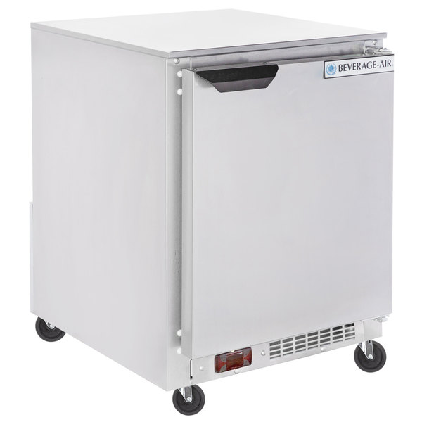 "Beverage-Air UCR20HC 20"" Shallow Depth Low Profile Undercounter Refrigerator"