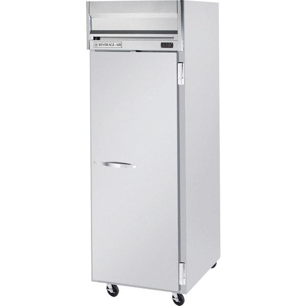 Beverage-Air HR1HC-1S Horizon Series 26 inch Top Mounted Solid Door Reach-In Refrigerator