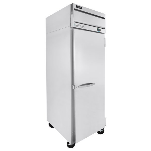 "Beverage-Air HF1HC-1S Horizon Series 26"" Solid Door Reach-In Freezer Main Image 1"
