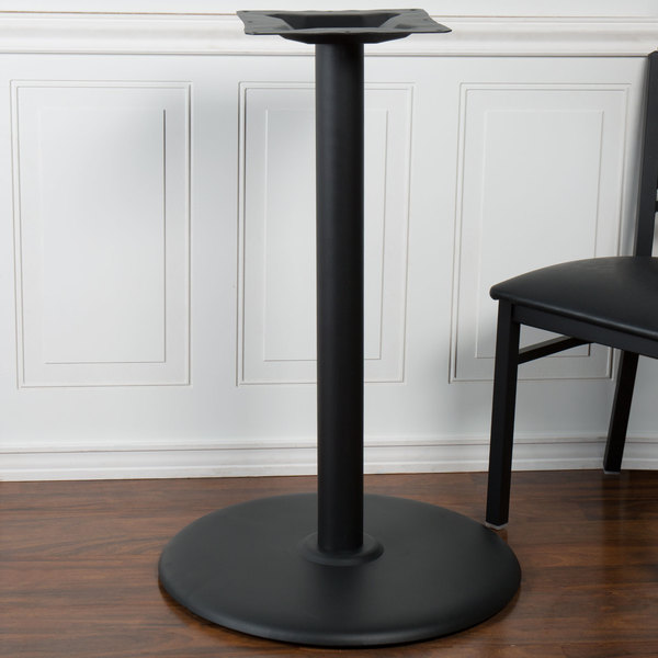 Super Bfm Seating Stb 22Rcbp 22 Sand Black Stamped Steel Counter Height Indoor Round Table Base 3 Column Interior Design Ideas Clesiryabchikinfo