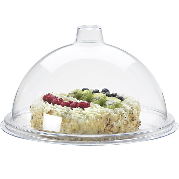 """Cal-Mil 311-10 Gourmet 11 1/4"""" Sample / Pastry Tray Cover"""