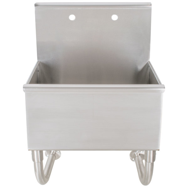 """Advance Tabco WSS-16-25 Wall Mounted Utility Sink - 22"""" x 19 1/2"""""""
