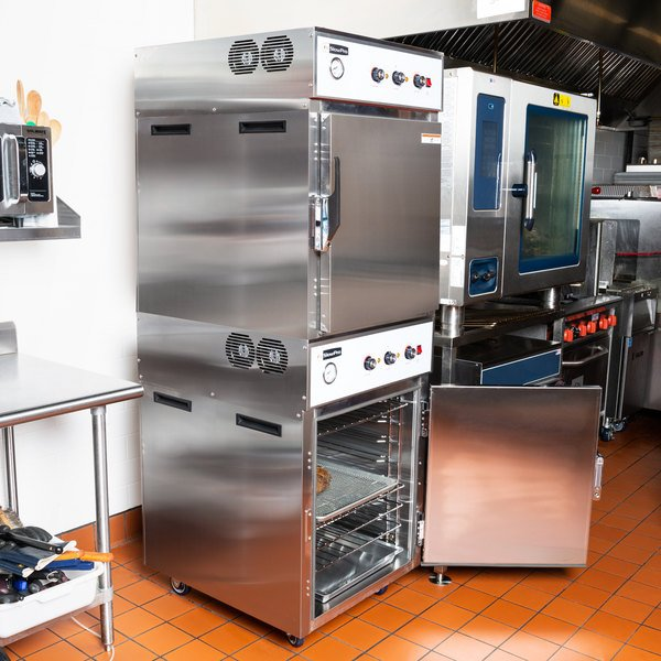 Cooking Performance Group CHSP2 SlowPro Stacked Cook and Hold Oven - 208/240V, 4500/6000W Main Image 6
