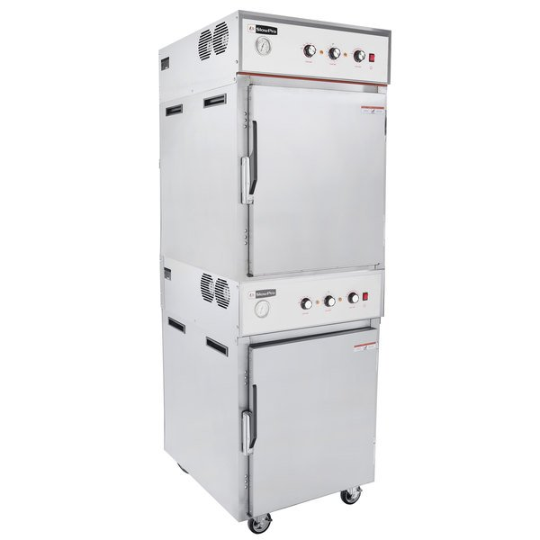 Cooking Performance Group CHSP2 SlowPro Stacked Cook and Hold Oven - 208/240V, 4500/6000W